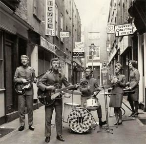 The Joystrings in the backstreets of London